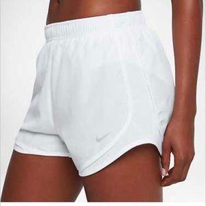 Nike Shorts - Nike Women's Dry Tempo Shorts In White-SZ.L